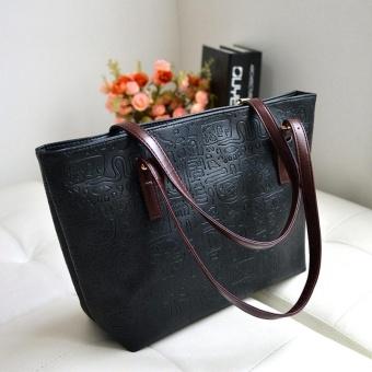 Amart Fashion tas tangan wanita tas bahu tunggal kulit PU kapasitas besar b3b62801cf