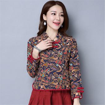 Features Baju Wanita 2018 Model Musim Panas Mimzf Dilukis Dengan