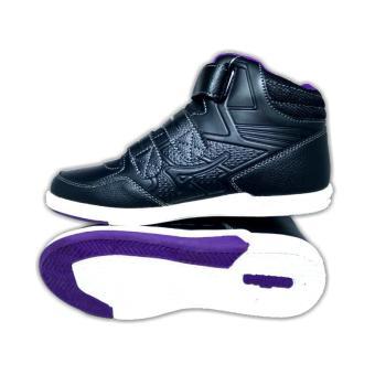 Ardiles CM Out Post Black Purple - Sepatu Sekolah - Sepatu anak - Sepatu Murah