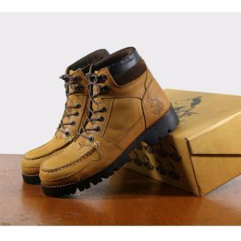 B A E WEAH Sepatu Boots Safety Kulit Asli - WOLF ORIGINAL -Wolf Rotweiler (  Tan ) d8cd3b9529