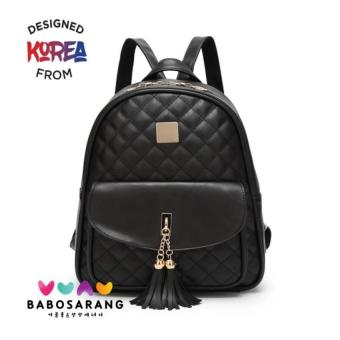 Babosarang Tas Ransel Wanita Backpack Cewek Fashion Kasual Korea Multifungsi ddd4db0e3e