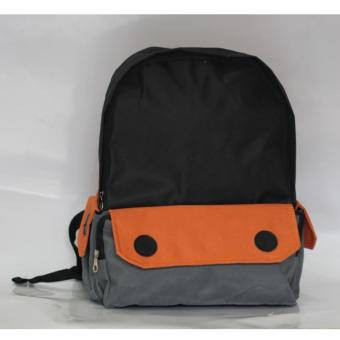 backpack wanita vielin eye oranye