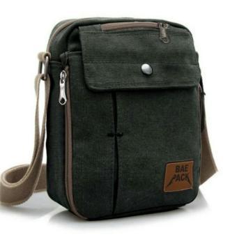 Baepack Tas Pria Men Vintage Canvas Multifunction Travel Satchel Messenger  Shoulder Bag 1507-7ZV 8d53378986
