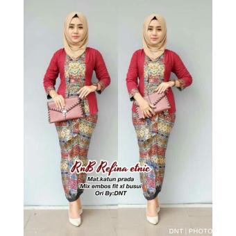 Fitur Baju Batik Wanita Batik Modern Baju Muslim Wanita Terbaru 2018
