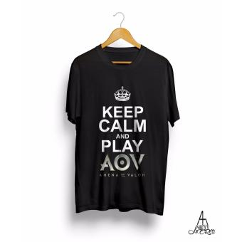 Baju Kaos Aov Keep Calm And Play Arena Of Valor Antihero Cloth