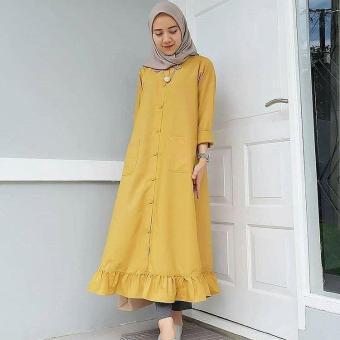 Baju Original Velove Dress Balotely Gamis Panjang Hijab Casual Pakaian  Wanita Muslim Modern Maxy Terbaru Tahun 0aa3d71dd0