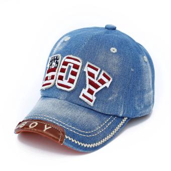Baru Model Musim Gugur Bordir Tempelan Kain Bunga Topi Koboi Topi Anak Topi  Bisbol (4 3c0bcc2bbd