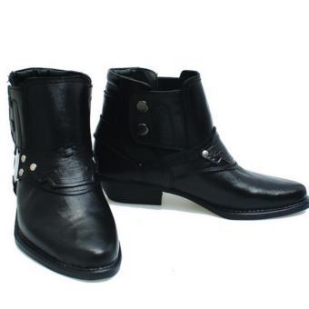 Basama Soga Sepatu Boots Pria 768- Hitam