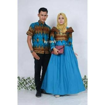 Fitur Busana Muslim Couple Mahadewa Gamis Batik Sarimbit By Najwa 6bac27b1dd