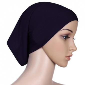 BeautyMaker Hijab Muslim Arab Wanita Penutup Kepala Jilbab Syal Hitam-Intl 2fa5aa0f84