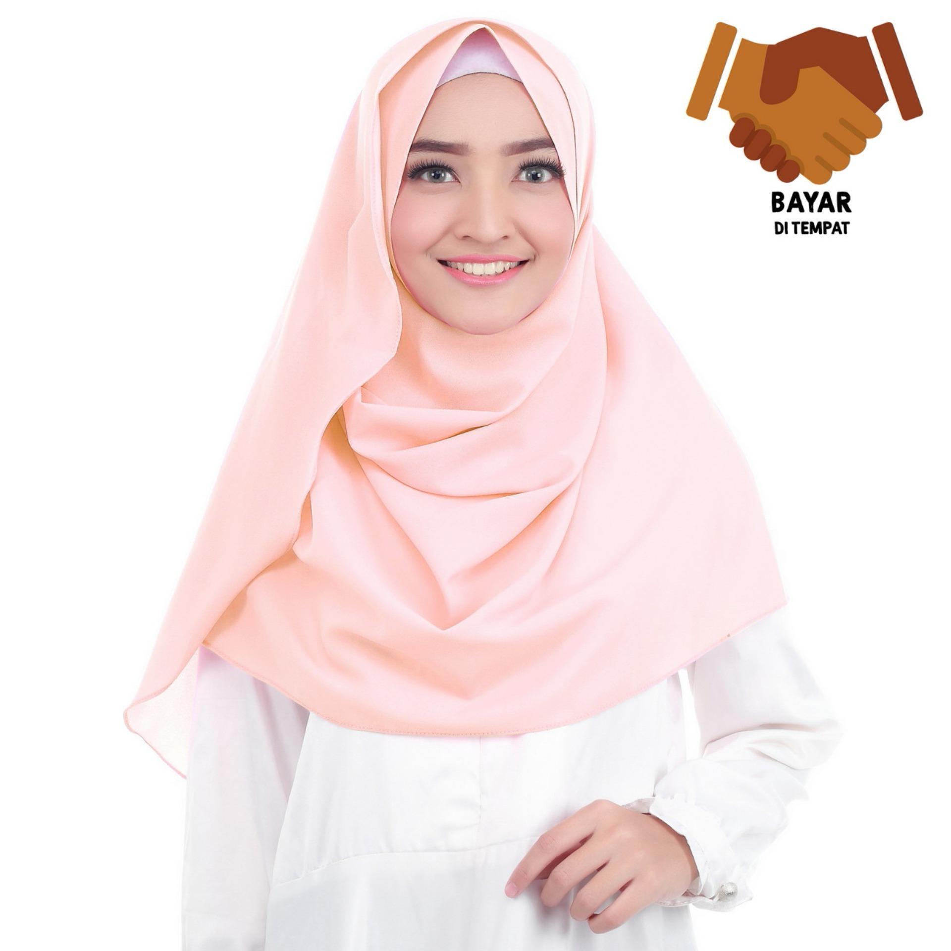 Belle Hijab Kerudung Instan Peach7 Daftar Harga Terkini Dan Khimar Maroko Withpet Sj0004 Best