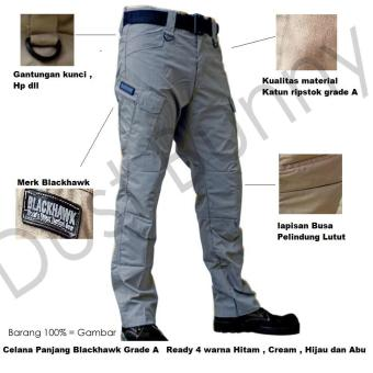 Blackhawk-Celana Tactical Blackhawk Panjang PDL Kargo Long Pants [Multicolour]