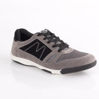 harga Blackkelly Sepatu Olahraga Pria / Sepatu Running / Sepatu Lari LNUx867 Grey Lazada.co.id