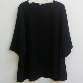 Blus Jumbo Wanita Ukuran 2L 3L 4L 5L / Baju Atasan Blouse Big Size Warna Polos