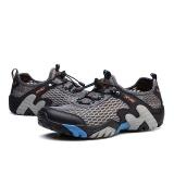 ... Sepatu Olahraga Outdoor Pria Sepatu mendaki Sepatu Panjat Tebing  Tangguh Sepatu Trekking Sepatu Wading Sepatu Olah 893188a95b