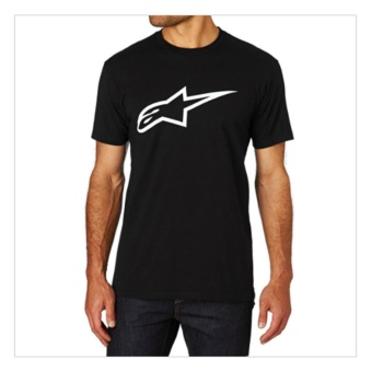 Brother Store Kaos Distro Pria / T SHIRT Alpinestars BLACK