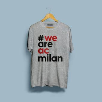 Brother Store Kaos WE ARE AC MILAN - Abu Misty Premium