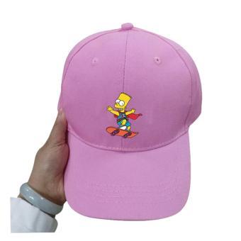 Brother Store Topi Baseball Bart Simpson Skearboard Premium