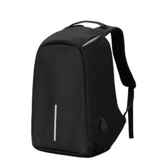 Byl anti-Theft Laptop bag with USB pengisian pelabuhan gablue (Hitam)