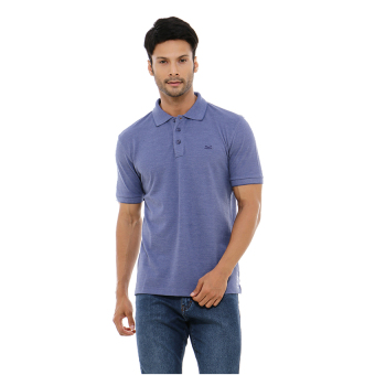 Carvil Misty-Blu Polo Shirt Man - Blue