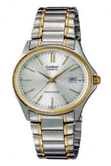 Casio Analog Jam Tangan Wanita - Putih - Strap Rantai - LTP-1183G-7A