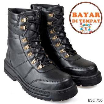 Cbr Six Sepatu Adventure / Boot Pria Keren Dan Kuat BSC 756 - Hitam