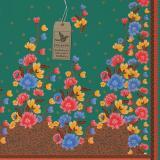 Cek Batik - Kain Batik Motif Bunga Anggun Manis - Hijau - 2 ...