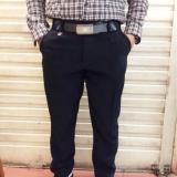 Celana Bahan Formal Twis Pria Slimfit  Hitam 27/38 - 3