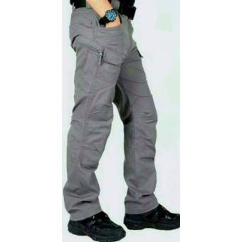 Celana cargo tactical blackhawk grey
