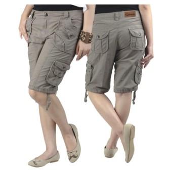Celana Casual Wanita   Celana Pendek Wanita   Celana Cargo Wanita   celana  pendek model kekinian 2519816a82