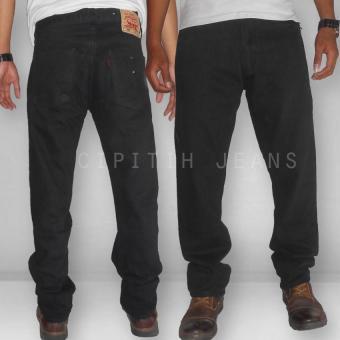 Celana Jeans - Levs Reguler Fit - Big Size To XXXL Best Materials