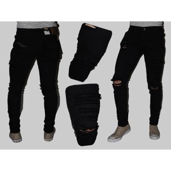 Cek Harga Baru Chakie Store 99 Celana Jeans Pria Sobek Ripped Celana