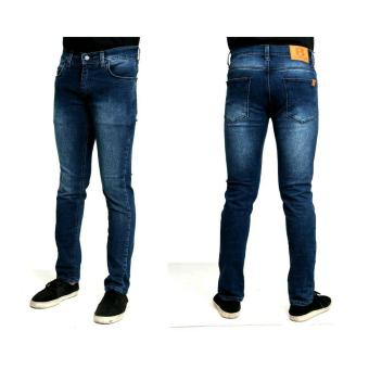 Celana jeans skinny bahan melar pria original made in bandung murah