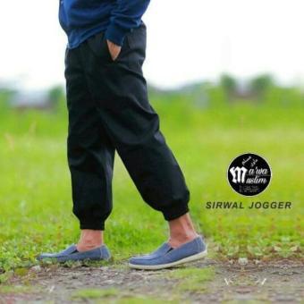 Celana Sirwal Jogger - Celana Panjang Pria