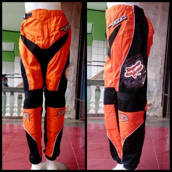 harga Celana Trail Cross Adventure Downhill Motocross Fox (Orange) Size 30 Lazada.co.id