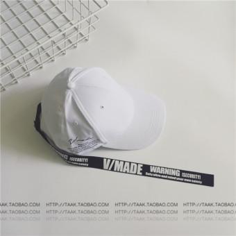 Chaonan Korea Fashion Style musim panas perempuan panjang surat topi baseball topi (Versi upgrade dari