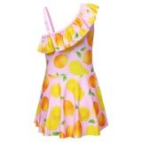 Murah Promosi Diskon Terbaik untuk Anak Swimwear Anak-anak Sports Girls Dress Remaja Shirt Baju Bayi untuk 4-9Y-Intl - 3