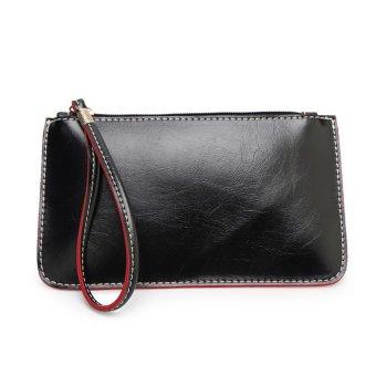 Coconiey Women Handbag Lady Envelope Clutch Tote Bag Purse Shoulder Black Int