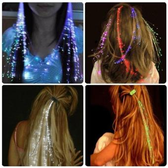 Light Up Hair : Klip Rambut / Flash Braid