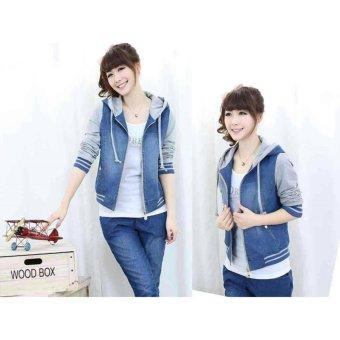 couple store cs - jaket wanita cherry abu