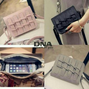 Cross Body & Shoulders Bags / Sling Bag / Tas Selempang Big Braid (Pink)