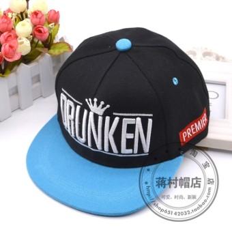 Baseball Korea Fashion Style Pria Dan Wanita Topi Baseball Cap Hitam ... a11337a1a0
