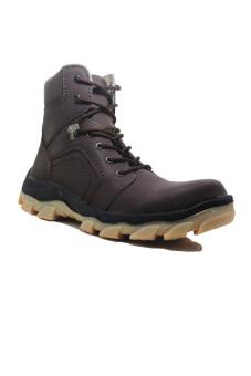 harga Cut Engineer Safety Boots Iron Fosfor Leather - Coklat Lazada.co.id