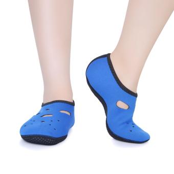 Dalam perjalanan adapula bertelanjang kaki air olahraga sepatukulit cepat kering Aqua kaus kaki sepatu pantai berenang