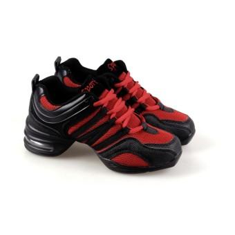 Menari Sepatu Olahraga Moderen Menari Jazz Sepatu Lembut Outsole Nafas Sepatu Tari Sneakers untuk Wanita Latihan