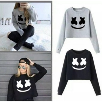 DaveCollection - Sweater Marsmellow CROP