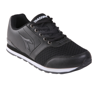 Diadora Donata Sepatu Lari Pria Black - Review Harga Terkini dan ... e50e69a4be