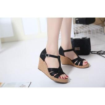 Sandal Wanita / Sandal Wedges / Sandal Wanita Murah / Sandal Wanita Terbaru / Sandal Kasual