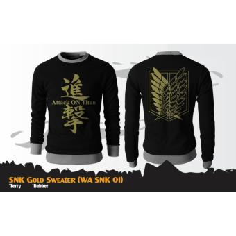 Digizone Jaket Anime Sweater SNK Attack on Titan (WA SNK 01) Best Seller -