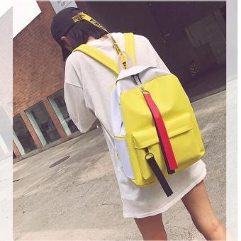 Dinamic Two Tone Korean Backpack Atdiva Tas Ransel Sekolah